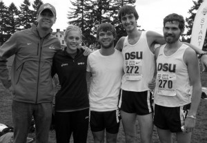 DSU Cross Country runners
