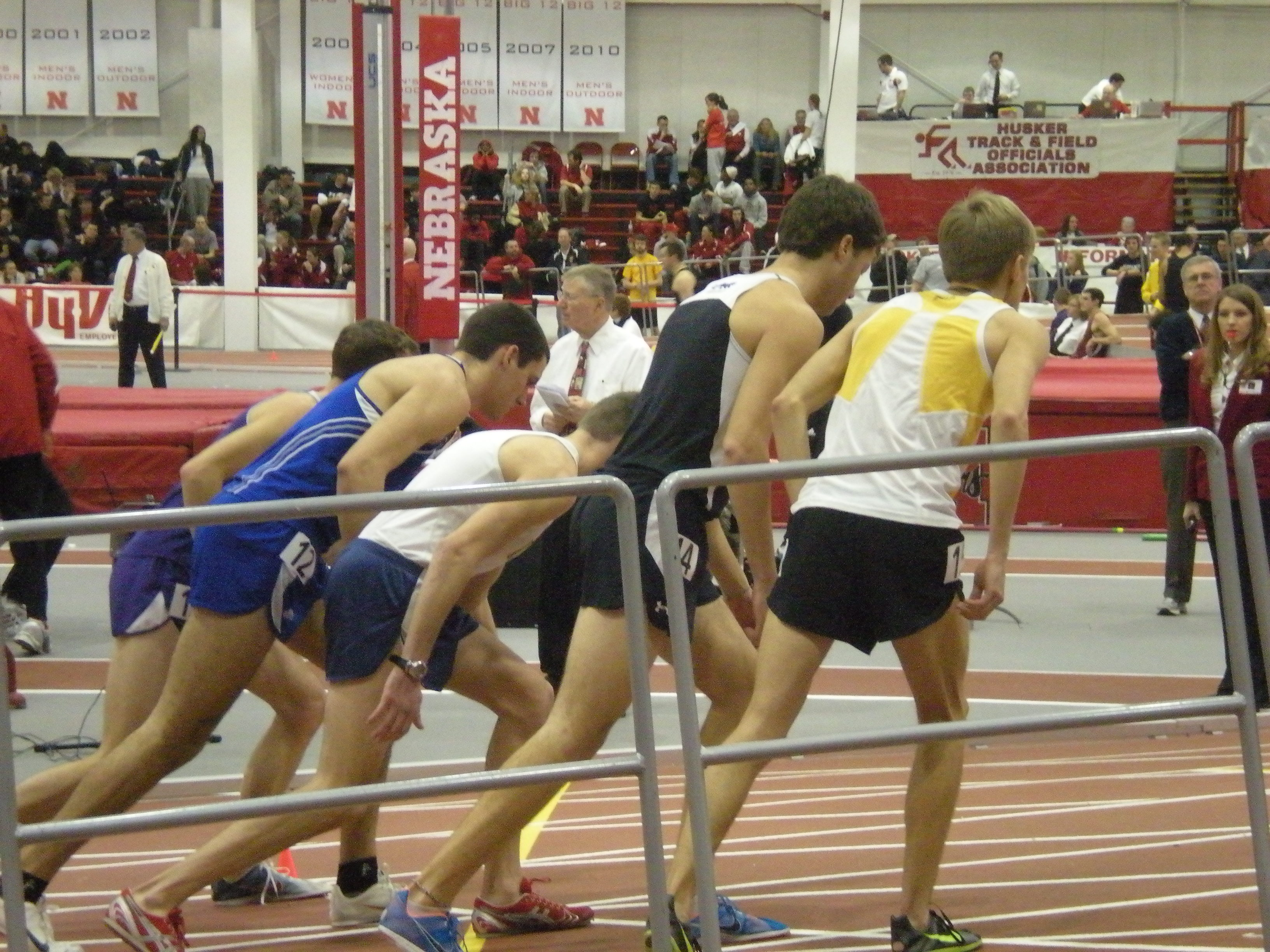 Track Athletes Compete at Husker Invitational