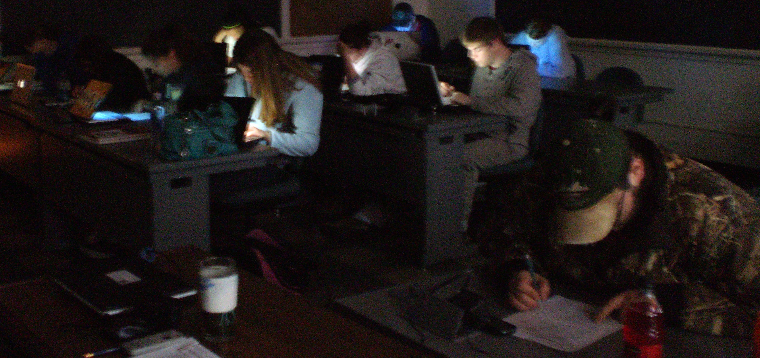 Lights Out at DSU, but Students Power Through!
