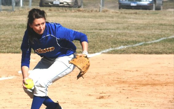 Trojan Softball Crushes Saints