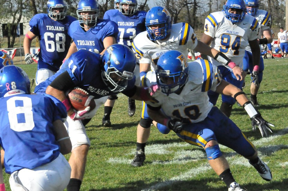 Trojans Top Briar Cliff at Rushing for a Cure