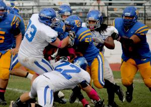Trojans Prevail Over Briar Cliff for First Win