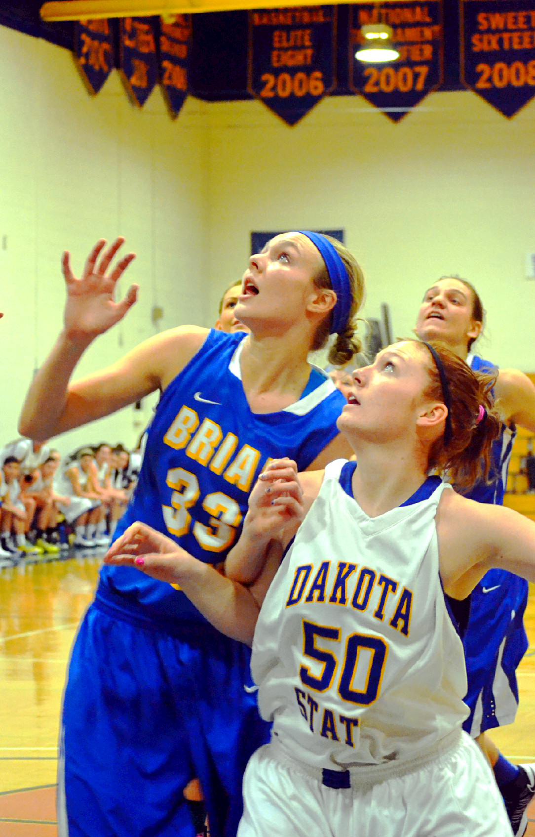 Lady T's Fall Short At Home
