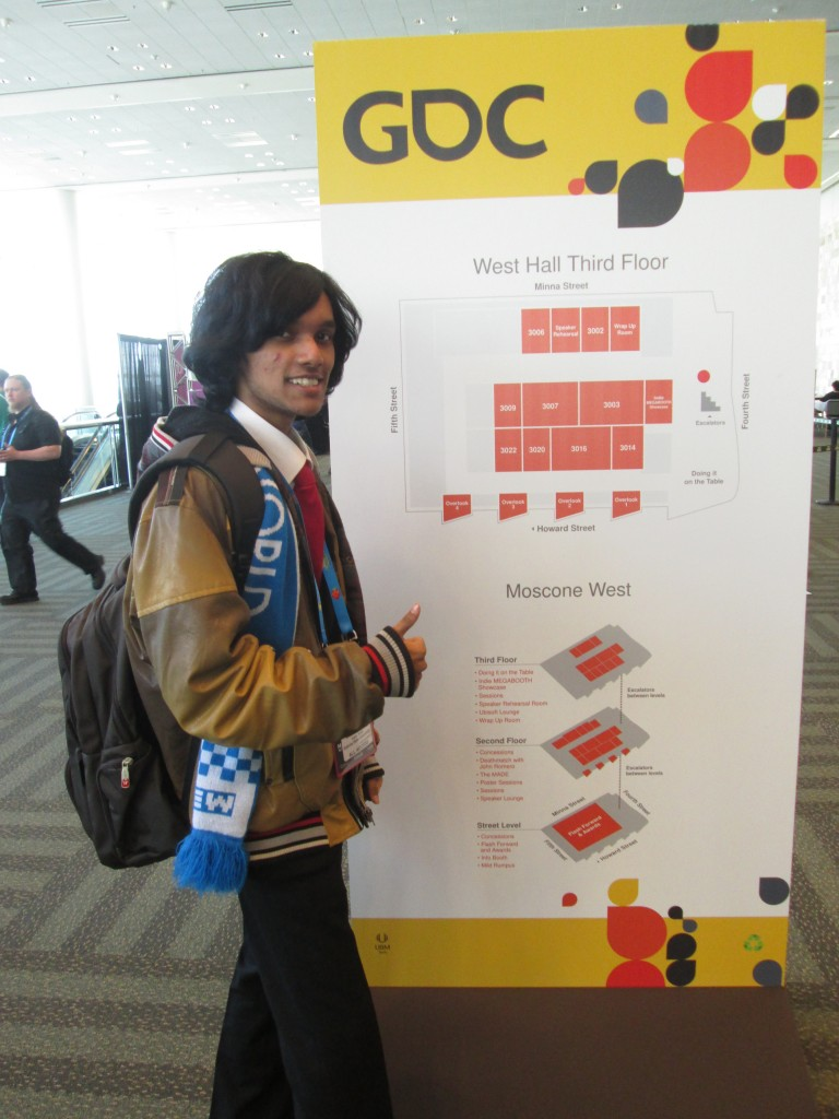 Game Developer's Conference GDC-2014 : Day One