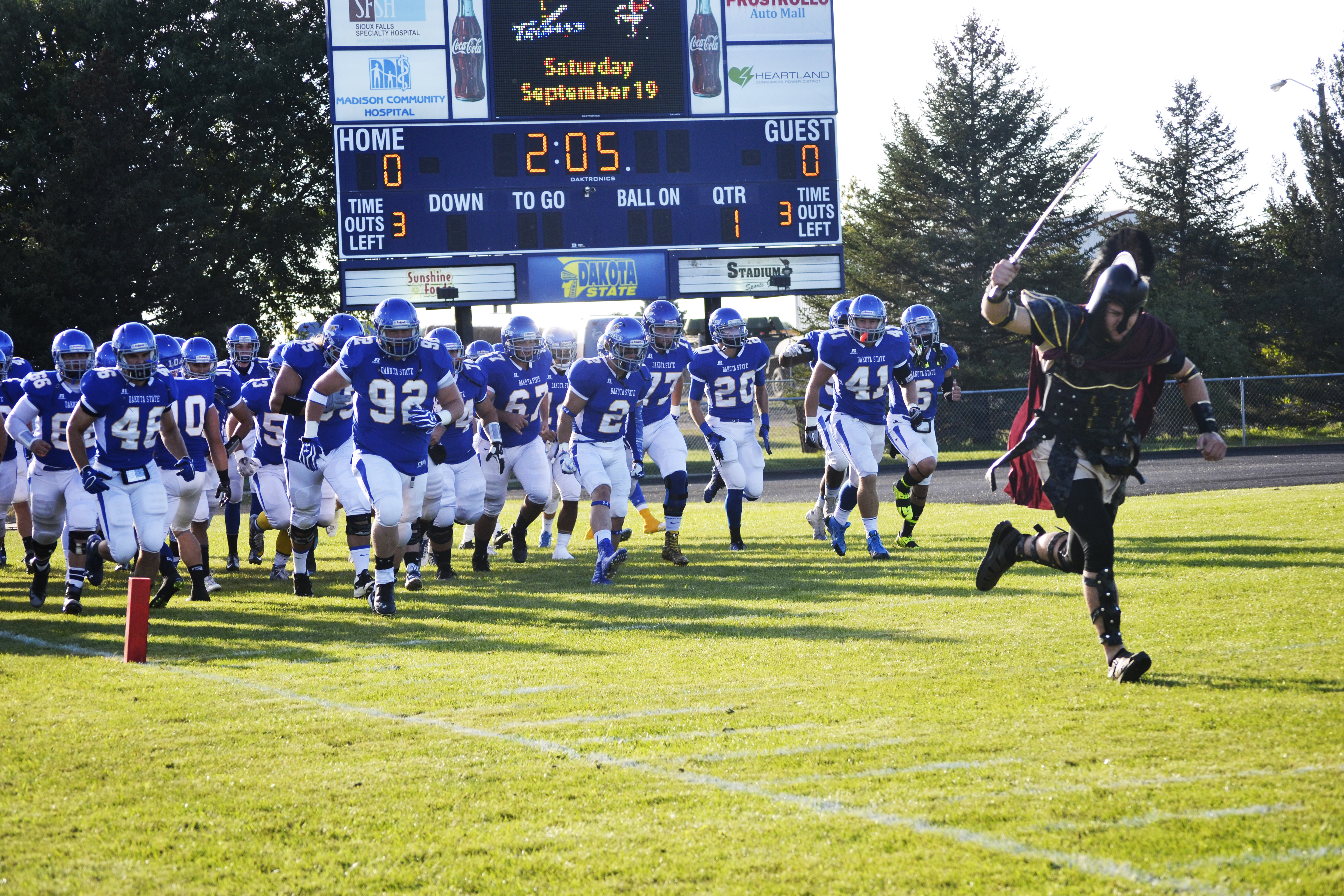 Football: DSU vs Waldorf