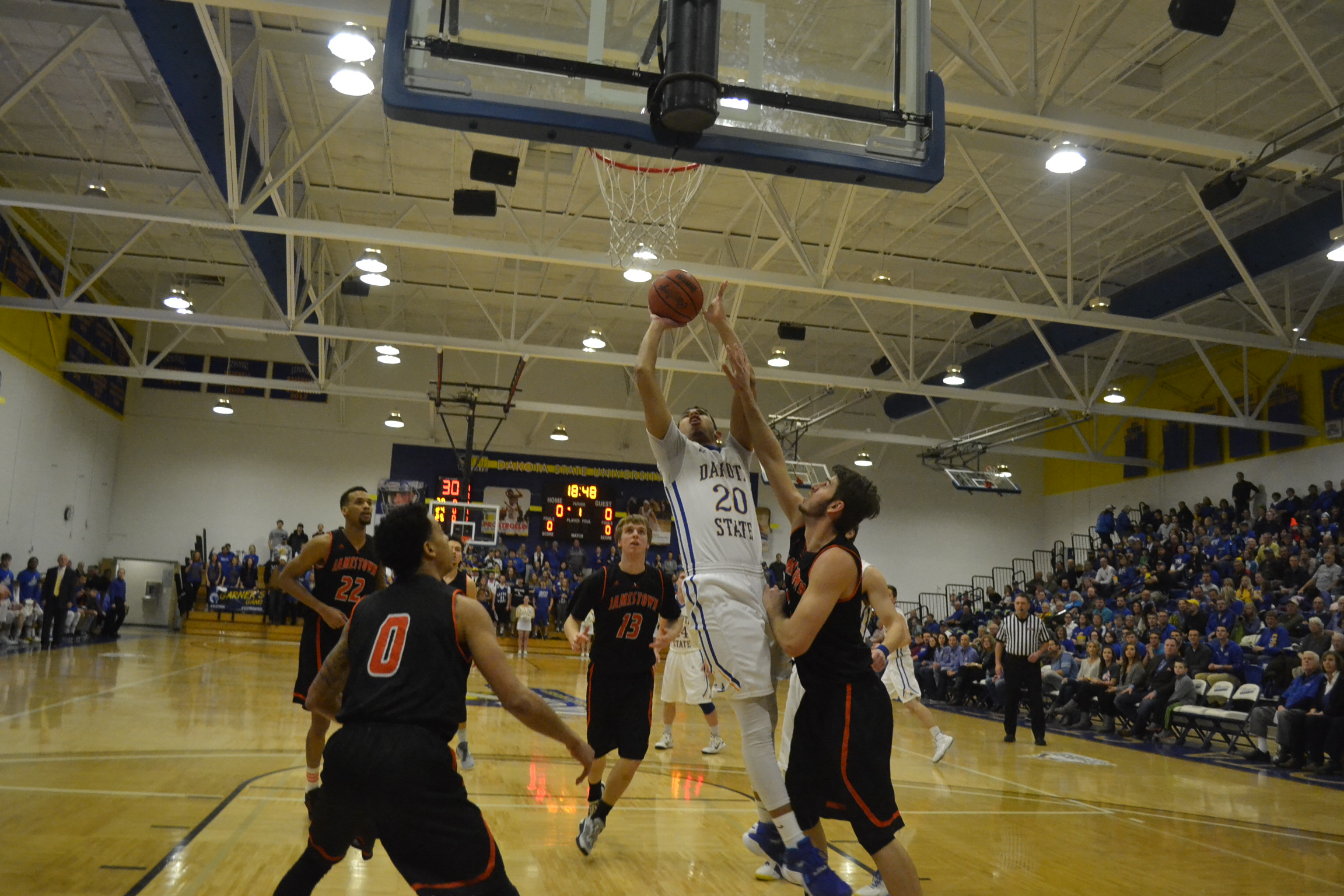 DSU Trojans vs. DWU Tigers Basketball Recap