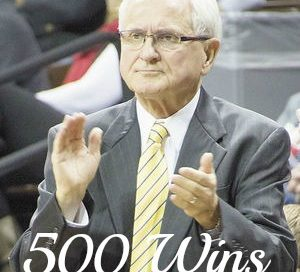 500+ Wins for Coach Garner