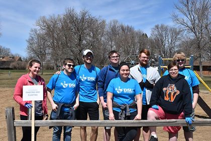 DSU Embraces Community with 3rd Annual Day of Service